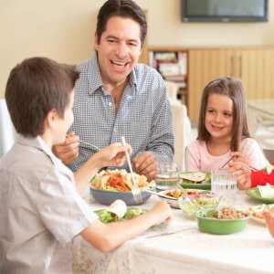 Family Dinners Protect Kids