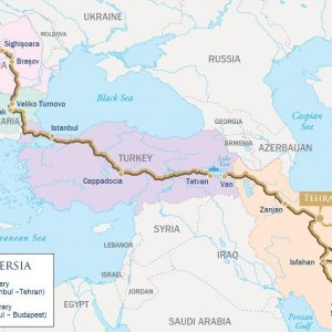 'Jewels of Persia' Eastbound, Budapest to Tehran