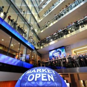 FTSE 100 Slips From 14-Year High