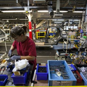 French Production Rises
