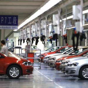 China Fines Automakers
