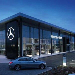 Mercedes Sales Rise 20% in Jan.