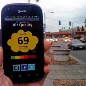 Pollution Monitoring Via Smartphones
