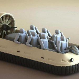 Indigenous Hovercrafts Manufactured
