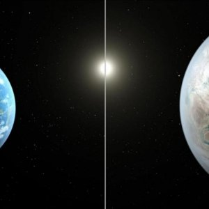 Earth's Older, Bigger Cousin Found