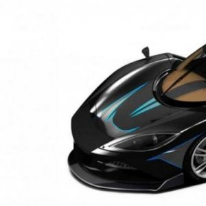 Arash Supercar Boasts Breathtaking 2080 HP