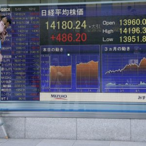 Asian Shares Steady