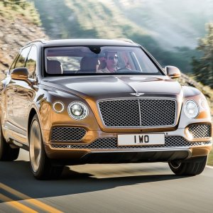 Bentley SUV Rolls Off Line