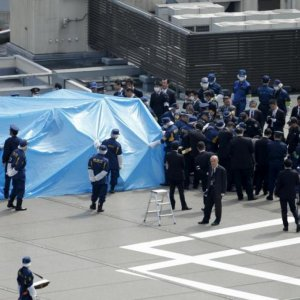 Radioactive Drone Found on Japan PM's Office Roof