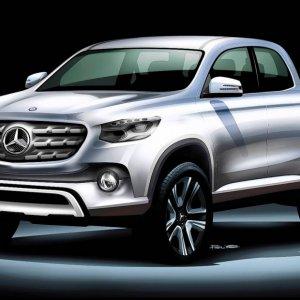 Mercedes Benz Pickup Announced