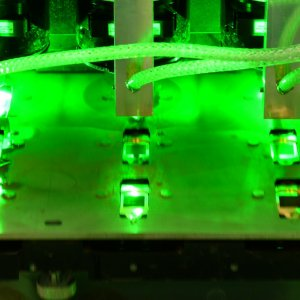 Laser Production Given  Green Light
