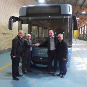 Environmentally-Friendly Bus Unveiled