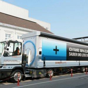 BMW Unveils Electric Heavy Vehicle