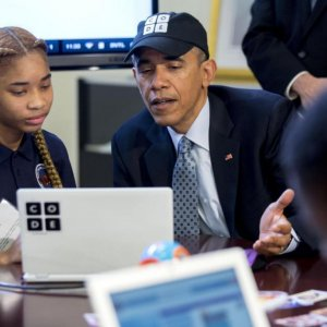 Obama Wants $4b to Help Students Learn Computer Science