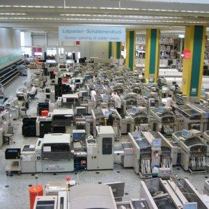 German Factory Output Dips