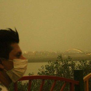 Ahvaz Air Pollution 'Critical'
