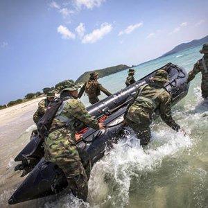 Thailand, US Start Drills
