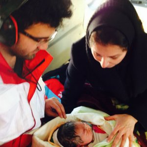 New Born, Mother Rescued From Snow Storm