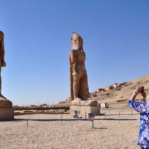 Colossal Statue of Amenhotep III Restored