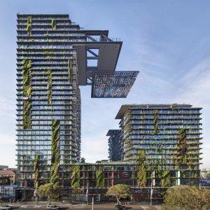 World's Tallest Vertical Garden in Sydney