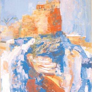 Lebanese Painter's Exhibition in Tehran