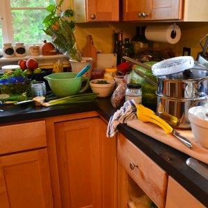 Messy Kitchen & Weight Gain