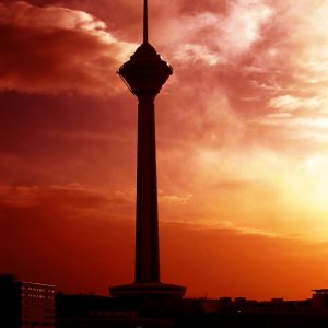 Suicide at  Milad Tower