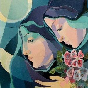 Persian Rug Symbol of Peace in Paintings