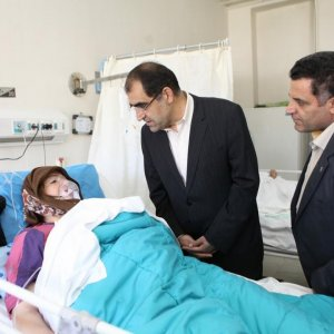 Hashemi Inspects Loghman Hospital