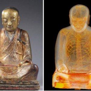 Mummified Monk Found Inside Ancient Buddha Statue