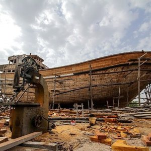 First Wooden Vessel for Qeshm