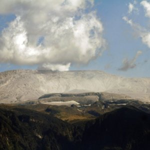 Volcanic Ash Closes Colombia Airport