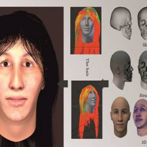 Face of 7,000-Year-Old Woman Reconstructed