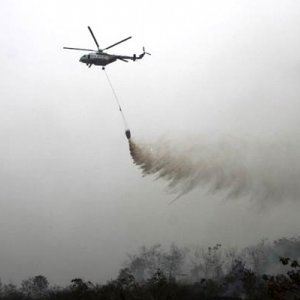 Multinational Effort to Douse Indonesia Forest Fires