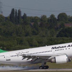 Mahan Air Flight to Moscow