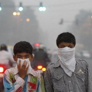 India Air Pollution Detrimental to Kids' Health