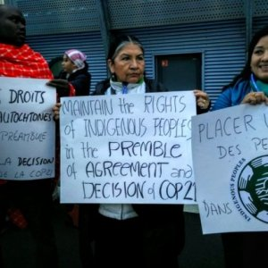 Indigenous People Demand Voice on Environment