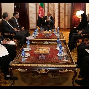 Ghani, Ebtekar Discuss Hamouns