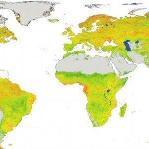 Researchers Publish Climate Sensitivity Map