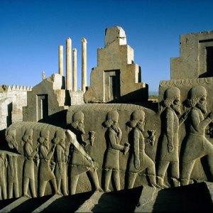 Subsidence  in Persepolis
