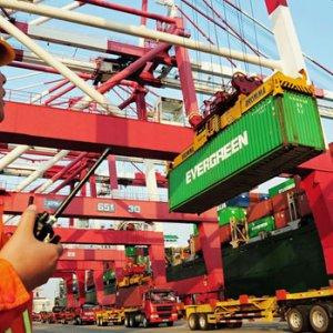 China Service Trade Deficit Drops