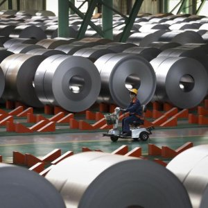 China State Firms' Profits Dip
