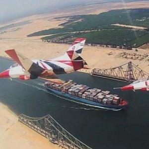 Economic Zone Around Suez Canal