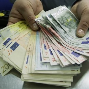 Euro Ends 9-Month Tumble