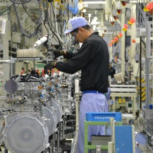 Japan Factory Output Down