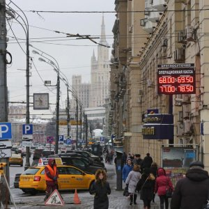 Russia Enters Its First Recession
