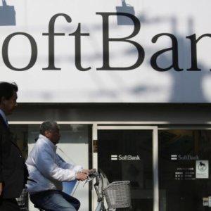 SoftBank Bond Risk Jumps