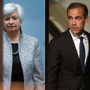 Yellen, Carney Hint at Rate Rises