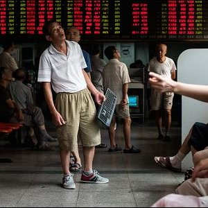 Alarm Bells Ring as  China Shares Sink 9%