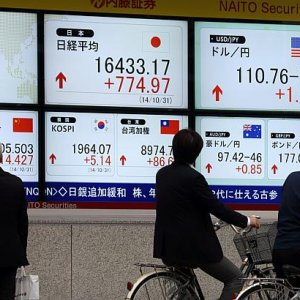Asian Stocks Rise for Third Day